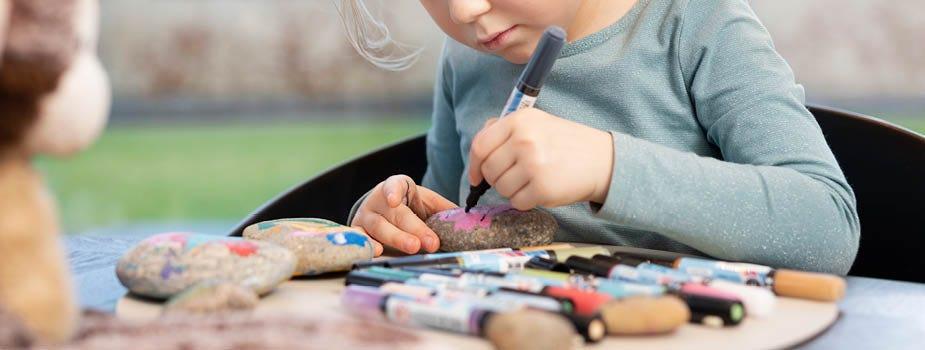 Hjemmelavet gaver fra kreative børn