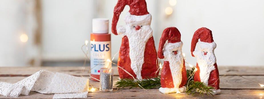 Hjemmelavede nisser og julemænd
