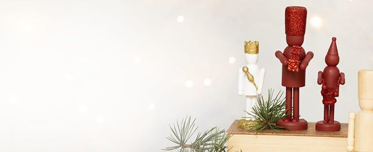 Julepynt med nøddeknækkeren