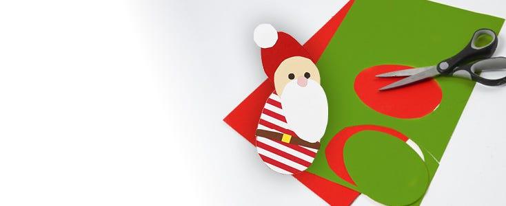 Juleklip med skabeloner