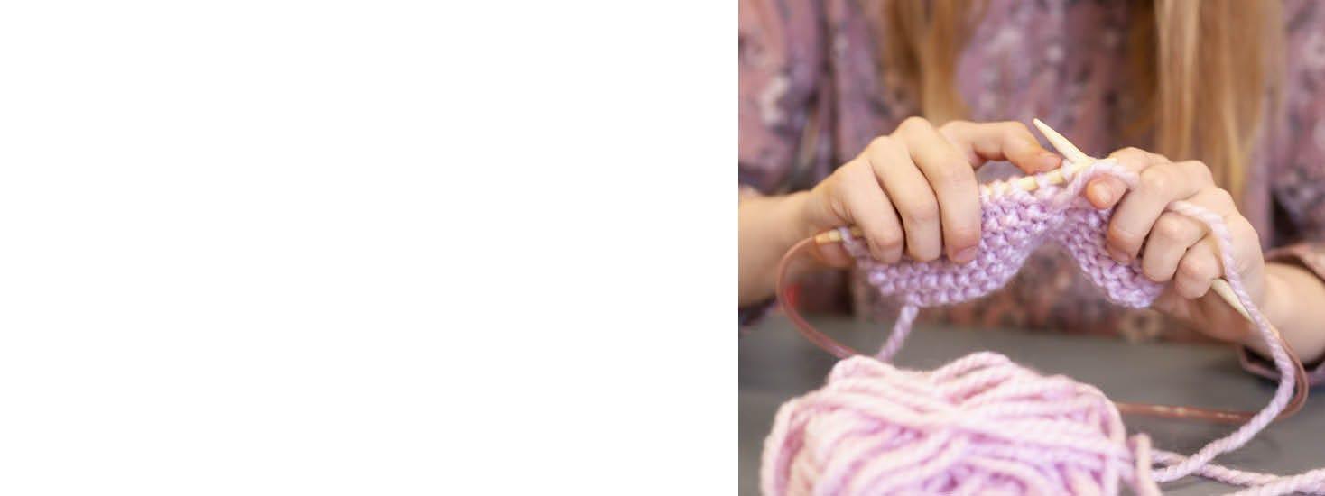 Sy og strik for børn
