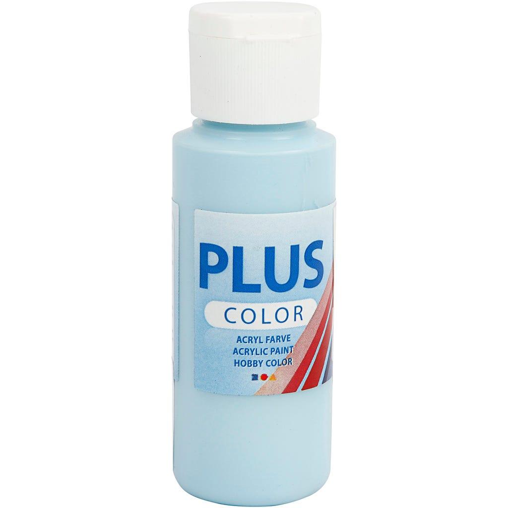 Billede af Plus Color hobbymaling, ice blue, 60ml