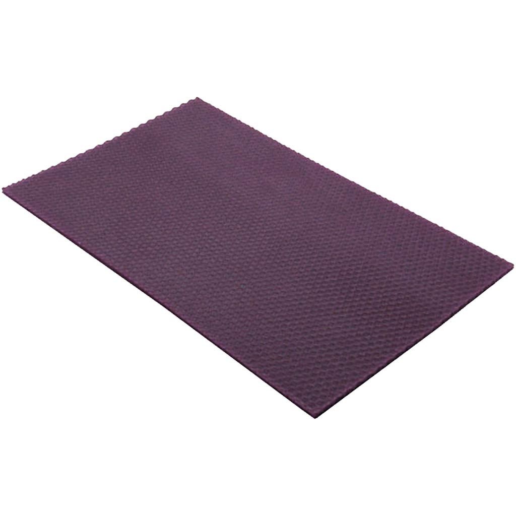 Billede af Creativ Company, Bivoksplader, str. 20x33 cm, tykkelse 2 mm, violet, 1stk.