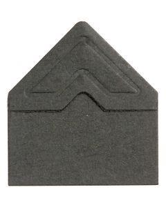 Fotohjørner, B: 10 mm, sort, 108 stk./ 1 pk.