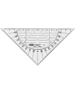 Geometritrekant, B: 16 cm, 1 stk.