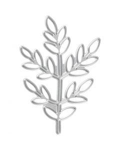 Skæreskabelon, kvist, str. 4,4x6,5 cm, 1 stk.