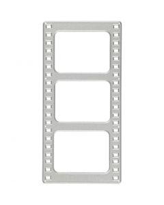 Skæreskabelon, filmstribe, str. 64x131 mm, 1 stk.