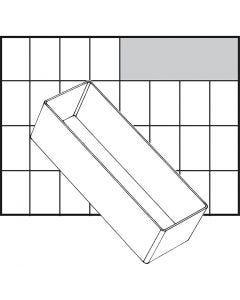 Basisindsats, nr. A8-2, H: 47 mm, str. 157x55 mm, 1 stk.
