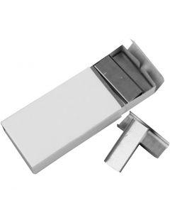 Hæfteklammer, B: 12 mm, str. 24/6 , 10x1000 stk./ 1 pk.