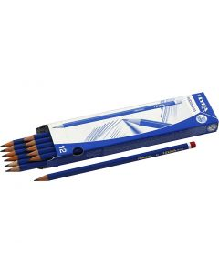Robinson blyant, diam. 6,8 mm, hårdhed B, mine 2 mm, 12 stk./ 1 pk.