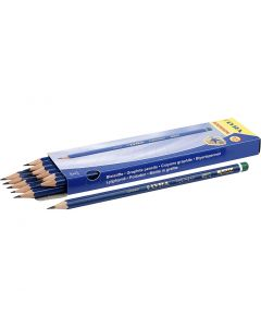 Robinson blyant, diam. 6,8 mm, hårdhed H, mine 2 mm, 12 stk./ 1 pk.