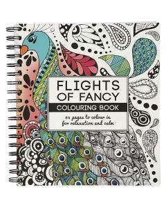 Mindfulness malebog, Flights of Fancy, str. 19,5x23 cm, 64 , 1 stk.