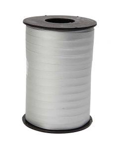 Gavebånd, B: 10 mm, mat, sølv, 250 m/ 1 rl.