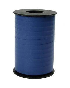 Gavebånd, B: 10 mm, mat, blå, 250 m/ 1 rl.