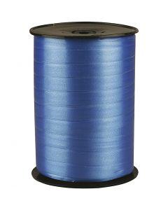 Gavebånd, B: 10 mm, blank, blå, 250 m/ 1 rl.