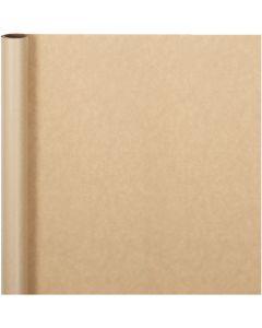 Gavepapir, B: 50 cm, 60 g, natur, 5 m/ 1 rl.