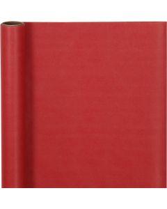 Gavepapir, B: 50 cm, 60 g, rød, 5 m/ 1 rl.