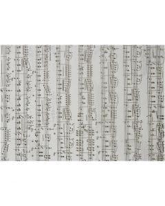 Pergamentpapir, noder, A4, 210x297 mm, 115 g, 10 ark/ 1 pk.