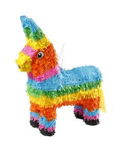 Piñata, str. 39x13x55 cm, stærke farver, 1 stk.