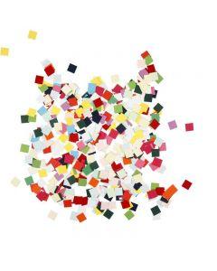 Kartonmosaik, kvadratisk, str. 10x10 mm, 180 g/ 1 pk.