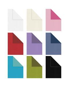 Strukturpapir, A4, 210x297 mm, 100 g, ass. farver, 30x20 ark/ 1 pk.