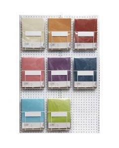 Pergamentpapir, A4, 210x297 mm, 100 g, ass. farver, 8x10 pk./ 1 pk.