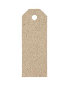 Manilamærker, str. 3x8 cm, 220 g, 20 stk./ 1 pk.