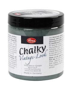 Chalky Vintage Look maling, dark green (702), 250 ml/ 1 ds.
