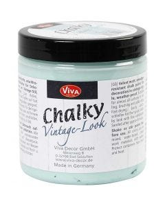 Chalky Vintage Look maling, aqua (703), 250 ml/ 1 ds.