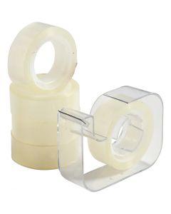 Dispenser med tape, B: 15 mm, 1 sæt