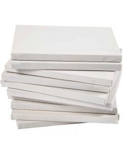 Malerlærred, dybde 1,6 cm, str. 18x24 cm, 280 g, hvid, 40 stk./ 1 pk.