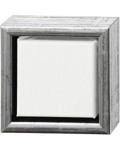ArtistLine Canvas med ramme, str. 14x14 cm, 360 g, hvid, 6 stk./ 1 pk.
