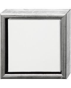 ArtistLine Canvas med ramme, str. 19x19 cm, hvid, 6 stk./ 1 pk.