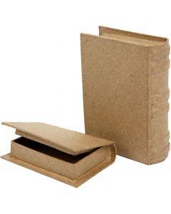 Minibøger, str. 8x11,5x2,5 cm, 2 stk./ 1 sæt