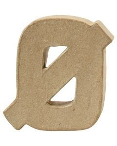 Bogstav, Ø, H: 10 cm, tykkelse 2 cm, 1 stk.