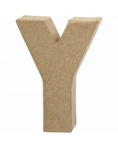 Bogstav, Y, H: 10 cm, B: 7,9 cm, tykkelse 1,7 cm, 1 stk.