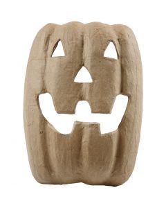 Halloweenmaske, H: 21,5 cm, B: 17 cm, 1 stk.