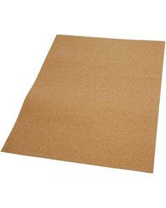 Korkplade, str. 35x45 cm, tykkelse 2 mm, 4 stk./ 1 pk.