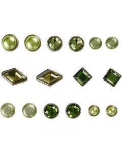 Dekonitter, str. 8-18 mm, grøn, 16 stk./ 1 pk.