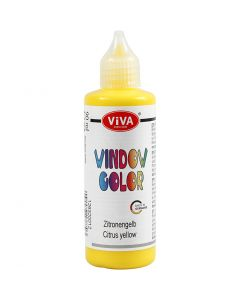 Viva Decor Window Color, gul, 90 ml/ 1 fl.