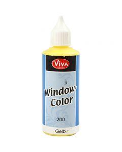 Viva Decor Window Color, gul, 80 ml/ 1 fl.