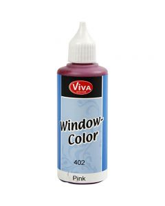 Viva Decor Window Color, pink, 80 ml/ 1 fl.