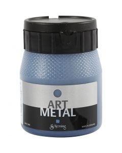 Art Metal maling, galaxy blå, 250 ml/ 1 fl.