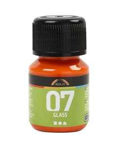 A-Color Glass, orange, 30 ml/ 1 fl.