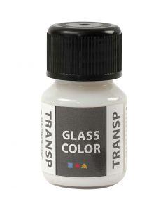 Glass Color Transparent, hvid, 30 ml/ 1 fl.