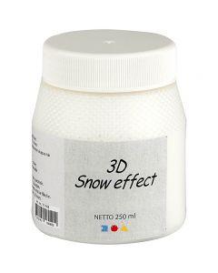 3D Snow effect, hvid, 250 ml/ 1 ds.