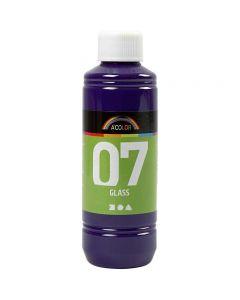 A-Color Glass, rødviolet, 250 ml/ 1 fl.