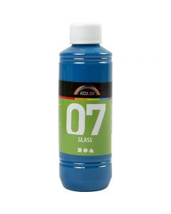 A-Color Glass, turkis, 250 ml/ 1 fl.