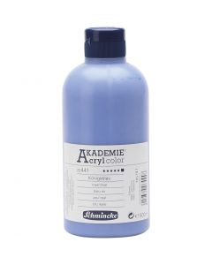 Schmincke AKADEMIE® Acryl color, dækkende, royal blue (441), 500 ml/ 1 fl.