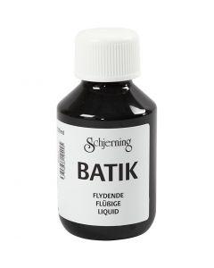 Batikfarve, sort, 100 ml/ 1 fl.